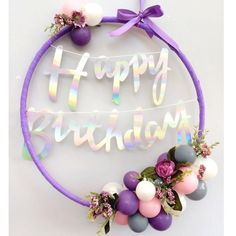 baloon hoop decoration | Party Decorating with Balloons & Hoops – Think Bubble ...