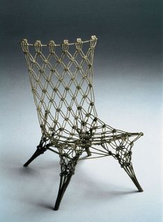 Marcel Wanders, Knotted Chair for Cappellini, 1996.