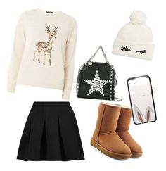 """""""Winteroutfit"""" by laurozic on Polyvore featuring Mode, Dorothy Perkins, T By Alexander Wang, UGG, STELLA McCARTNEY und Kate Spade"""