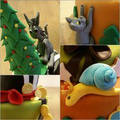 Michaela im Wunderland :-) Michaela, Dinosaur Stuffed Animal, Christmas Ornaments, Holiday Decor, Home Decor, Wonderland, Xmas Ornaments, Homemade Home Decor, Christmas Jewelry