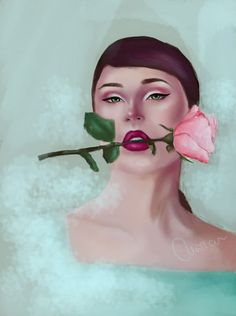 """Check out my @Behance project: """"Irina - digital painting"""" https://www.behance.net/gallery/67613057/Irina-digital-painting"""