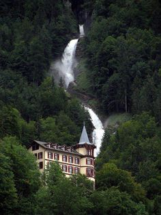 Giessbach Falls, Switzerland