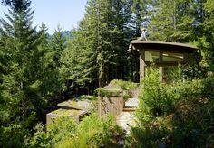 // Mill Valley Cabins by Feldman Architecture. Photography by Joe Fletcher