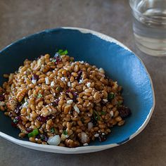 This recipe for a Light and Fresh Wheat Berry Salad is so refreshing and filling. All of the ingredients are tossed in a nice white balsamic vinaigrette.