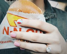 In-n-out + cute mani and engagement ring #blog #ontheblog #bloggerlife #blogger #ldsblog #lds #ldsblogger #mormonblog #mormonblogger #mormon #bloggerstyle #photography #fashionblog #fashionblogger #travelblog #travelblogger #graphicdesign #ipadpro #lightroom #lifestyleblog #lifestyleblogger  #adobe #canon