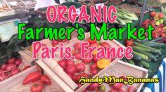 Organic Farmers Market, Paris France