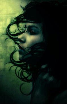Darkgreen fantasy
