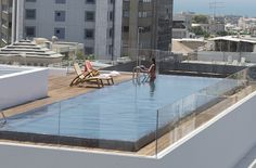Pool. The Norman Tel Aviv Hotel. New prestige in the heart of Tel Aviv. By Hotelied.