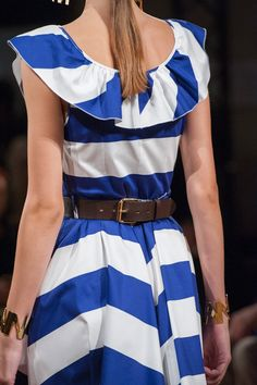 Blugirl at Milan Fashion Week Spring 2016 - Details Runway Photos
