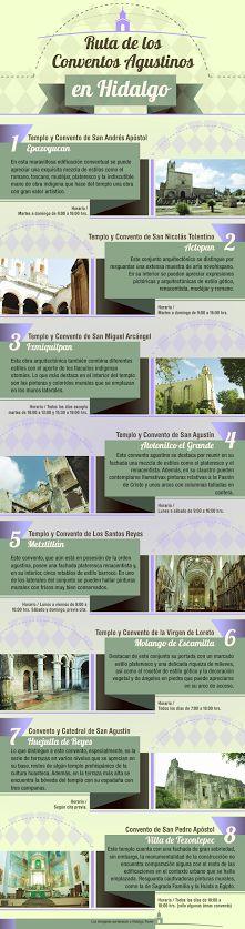 Orgulloso de su historia y reliquias culturales, #Hidalgo se presenta como un destino turístico de insuperable riqueza en el corazón del territorio mexicano. La Ruta de los Conventos Agustinos es solo una pequeña muestra de este repertorio cultural.