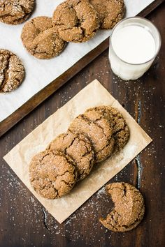 GF Molasses Cookies - Really good and my friend asked 7 times if they were really gluten free or if I was trying to kill her with flour.