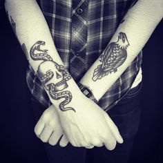 My (almost) hidden passion for ink — skinsouvenirs:   @christianlanouette on Instagram...