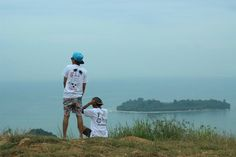 one off view in west sumatera