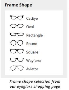 3c83d990b6 How to choose eyeglass frames to fit your face