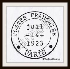 etsy listing at https://www.etsy.com/listing/175443166/paris-stencil-french-stencil-postmark