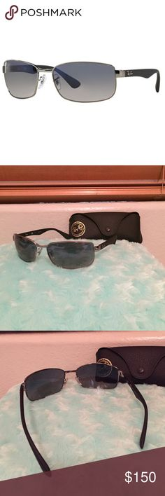 Polarized Ray Ban Sunglasses Perfect condition, never worn. Bought as a gift but he didn't like them. Includes case with felt interior! (As seen in the background) Ray-Ban Accessories Sunglasses