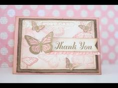 Thank Card It's Friday May 22nd, 2014....joanne herbert
