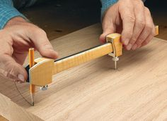 Shop-Made Beam Compass | Woodsmith Plans