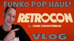 RETROCON VLOG + FUNKO POP HAUL!