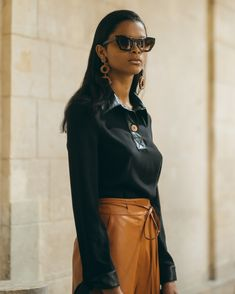 Get inspired and discover Nanushka trunkshow! Shop the latest Nanushka collection at Moda Operandi. Free Spirit, Leather Skirt, Im Not Perfect, Presentation, Spring Summer, Style Inspiration, Shopping, Collection, Instagram