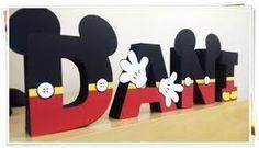 Resultado de imagem para letras mickey mouse