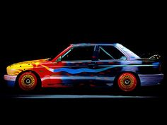 BMW ART CAR  s 1989  artist: Ken Done    car : BMW E30 M3