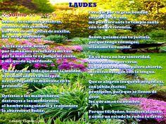 http://www.eltestigofiel.org/oracion/liturgia.php  http://www.eltestigofiel.org/oracion/liturgia.php?id_fecha=15-2-2016&idd=659&hora=1&idu=continuop  Lunes, I semana de Cuaresma, feria #Laudes   Inicio †  (se hace la señal de la cruz sobre los labios mientras se dice:) V/. -Señor, Ábreme los labios. R/. -Y mi boca proclamará tu alabanza. (En Laudes puede omitirse el Salmo, reemplazándolo por el Gloria)  *Salmo 66: *  Que todos los pueblos alaben al Señor...