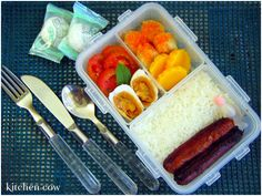 Filipino Breakfast Bento