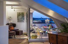 Maxad inspiration i fina etagelägenheten (terrassen är bara början) Outdoor Spaces, Outdoor Decor, Terrace Garden, Bunker, Curb Appeal, Backyard, Exterior, Architecture, Places