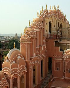 Jaipur Rajasthan India :: Hawa Mahal