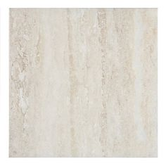 Euro Collection 13 x 13 DiNatura Travertino Beige Ceramic Floor Tile  DiNatura Travertino glazed ceramic floor and wall tile offers the unmistakable look