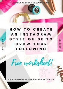 Do you want to up your instagram game? Create a cohesive feed and increase your following? You need this FREE workbook to help you create your own aesthetic.