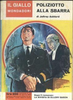 POLIZIOTTO ALLA SBARRA di Jeffrey Ashford  14 aprile 1963  Il giallo Mondadori