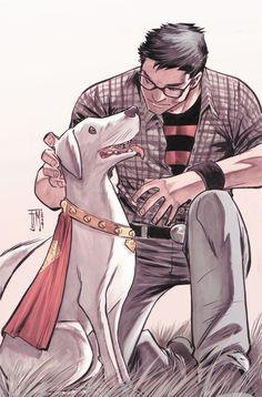 Superboy and Krypto - Francis Manapul #DCComics