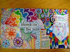 colorful sharpie doodles - Google Search