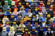 Evento reúne entusiastas de Lego na Inglaterra