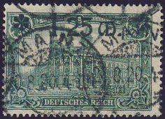 Germany, German Empire, German Reich 1920, 1. 25 M on 1 Mk., thin overprint, used superb (gest., Michel-no. 116 II / Michel EUR 120,). Price Estimate (8/2016): 15 EUR. Unsold.