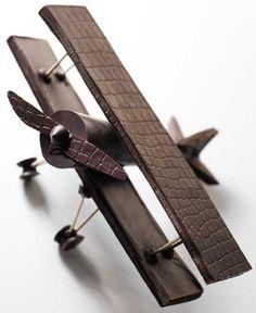 Flying chocolate Plane Food Art