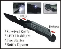 1 Personalized Engraved Pocket Rescue Hunting Knife, Led Flashlight, Bottle Opener, Fire Starter, Holidays Birthday Groomsmen Gifts-LED e-tradeusa http://www.amazon.com/dp/B00BUHZT3A/ref=cm_sw_r_pi_dp_jQwZub0R3ZQ7Z