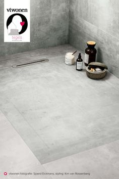 Met deze prachtige douchetegel kunt u een perfecte inloop douche maken! De perfecte combinatie van tegel en douchebak. Toch de voordelen van een douchebak, maar douchen op de tegels!