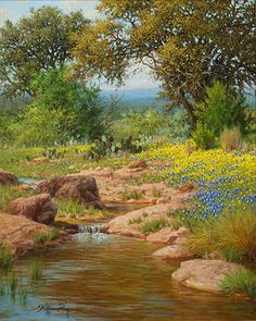 Landscape painting by William Hagerman