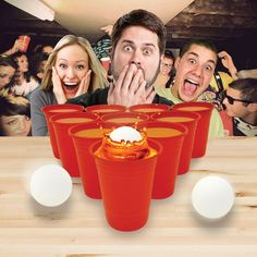 ★NEW : Jeu Beer Pong ★ ► http://ow.ly/YnaQR  ✔ en stock / 9.90€ Vendredi pro, c'est Beer Pong !