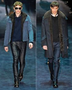 Men's Gucci jackets shearling