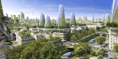 Week 2: Cities in the present days are occupied with artificial structures, and it is necessary to bring nature back into the city, not just by having more parks, but also merge the greenery with buildings.