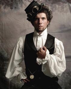 Einfache Steampunk Kleidung für Männer
