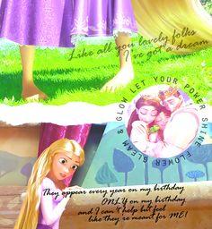 """thepatchworkmermaid: """"~ Make Me Choose ~forever-a-disnerd asked, Rapunzel or Cinderella ~ """""""