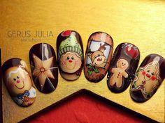#christmasnails #nails #nailart #xmasnails