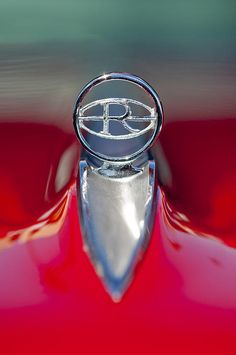 1965 Buick Riviera Hood Ornament Photograph by Jill Reger -