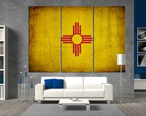 Popular items for new mexico flag on Etsy