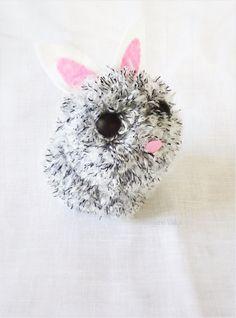 DIY Lapin pompons / DIY pompons bunny